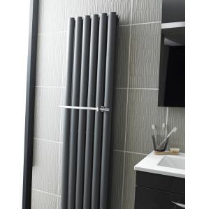 Nuie Chrome Contemporary Revive Radiator Towel Rail - HL318 HL318