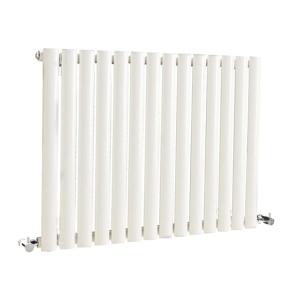 Nuie Revive Single Panel High Gloss White Contemporary Designer Radiator - HL324 HL324