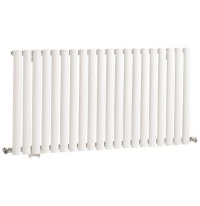 Nuie Revive Single Panel High Gloss White Contemporary Designer Radiator - HL325 HL325