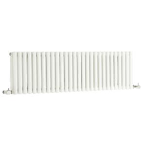 Nuie Refresh High Gloss White Contemporary Double Panel Designer Radiator - HLW22 HLW22