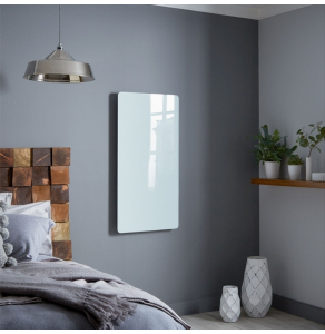 Bestheat Vetro Electric Glass Radiator Frame 1000mm High x 500mm Wide In White - 144239 144239