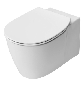 Ideal Standard Concept Aquablade Wall Hung Toilet WC -Soft Close Seat 365mm Wide White IS10064