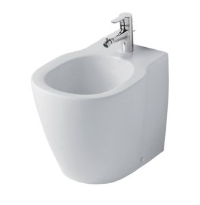 Ideal Standard Freedom Back to Wall Bidet 360mm Wide 1 Tap Hole - E800401 IS10660