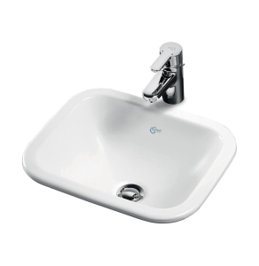 Ideal Standard Concept Cube Countertop Basin 420mm Wide 0 Tap Hole - E502701 IS10206