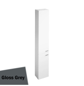 Ideal Standard Concept Space Tall Unit With Two Doors 300mm - Gloss Grey - E0379KR IS10449