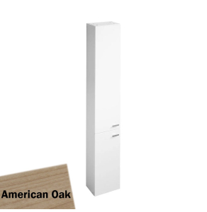 Ideal Standard Concept Space Tall Unit With Two Doors 300mm - American Oak - E0379SO IS10420