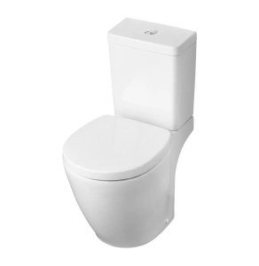 Ideal Standard Concept Space Close Coupled Toilet with Cube Cistern - Standard Seat IS10100