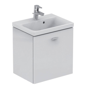 Ideal Standard Concept Space Wall Hung Vanity Unit with Basin 500mm Wide - Gloss White IS10476
