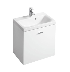 Ideal Standard Concept Space Wall Hung Vanity Unit with Basin 550mm Wide - Gloss White IS10483