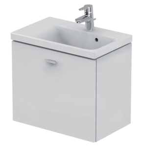 Ideal Standard Concept Space Wall Hung Vanity Unit with LH Basin 600mm Wide - Gloss White IS10492