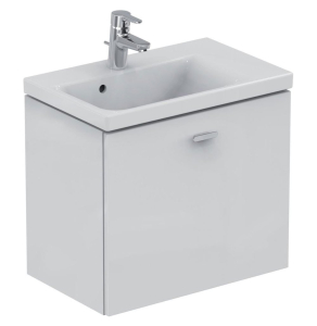 Ideal Standard Concept Space Wall Hung Vanity Unit with RH Basin 600mm Wide - Gloss White IS10494