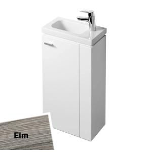 Ideal Standard Concept Space Floor Standing Vanity Unit with RH Basin 450mm Wide - Elm IS10408
