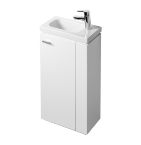 Ideal Standard Concept Space Floor Standing Vanity Unit with RH Basin 450mm Wide - Gloss White IS10405