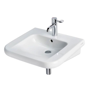 Armitage Shanks Contour 21 Basin with Overflow 550mm Wide - 1 Tap Hole AS10086