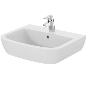 Ideal Standard Tempo Washbasin 600mm Wide 1 Tap Hole - T058401 IS10135