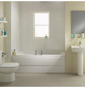 Ideal Standard Tempo Cube Double Ended Rectangular Bath 1700mm X 750mm 0 Tap Hole - E258301 IS10311