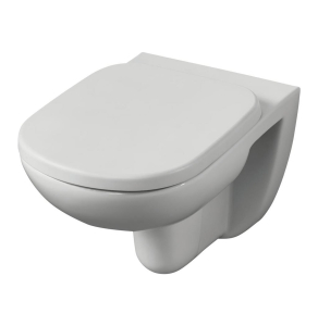 Ideal Standard Tempo Wall Hung Toilet WC -Standard Seat 365mm Wide White IS10030