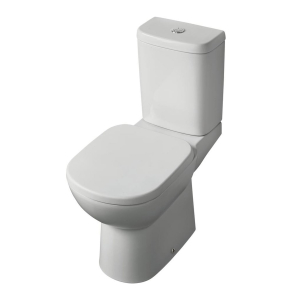 Ideal Standard Tempo Close Coupled Toilet WC Push Button Cistern - Soft Close Seat IS10032