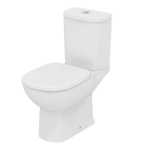 Ideal Standard Tempo Close Coupled Toilet WC 6/4 Litre Dual Flush Cistern - Standard Seat IS10027