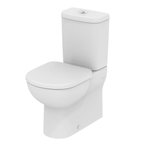 Ideal Standard Tempo Close Coupled Toilet 4/2.6 Litre Dual Flush Cistern and Standard Seat IS10034