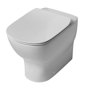 Ideal Standard Tesi Back to Wall Toilet - Standard Seat and Cover IS10029