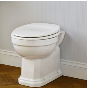 Ideal Standard Waverley Back to Wall Toilet 500mm Projection - Standard White Seat IS10031