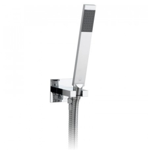 Vado Instinct Single Function Mini Shower Kit With 150Cm Shower Hose And Bracket With Integrated Outlet - Ins-Sfmkwo-C/P VADO1229