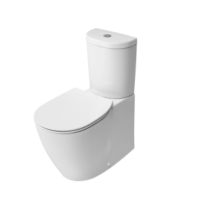 Ideal Standard Concept Aquablade Arc Close Coupled Back to Wall Toilet Cistern Slim - Standard Seat IS10099