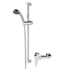 Bristan Jute Exposed Manual Shower with Single Mode Kit Chrome - JU2 SHXAR C JU2 SHXAR C