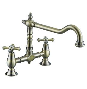 Bristan Colonial Bridge Sink Mixer Antique Bronze - K BRSNK ABRZ K BRSNK ABRZ