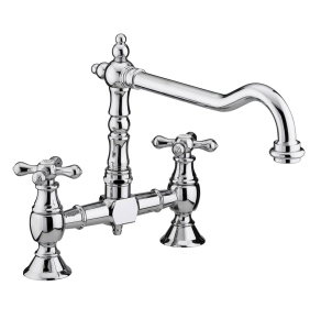 Bristan Colonial Bridge Sink Mixer Chrome - K BRSNK C K BRSNK C