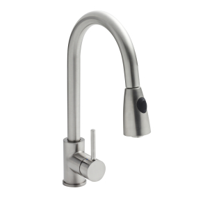 Nuie Kitchen Taps Chrome Contemporary Pull-out Mixer Tap - KC317 KC317