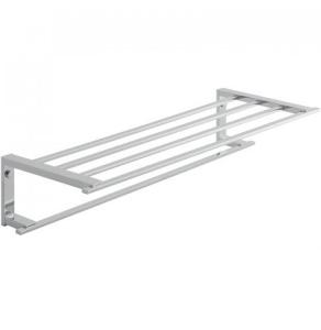 "Vado Level Towel Shelf With Towel Rail 550Mm (22"") - Lev-185B-C/P VADO1105"