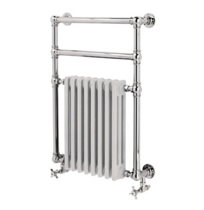 Vogue Regency Traditional Radiator Heated Towel Rail 825mm High x 675mm Wide, Electric - LG036 BR082067CP-E LG036 BR082067CP-E