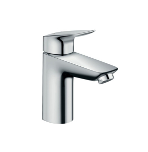 Hansgrohe Logis Chrome 100 Single lever Basin Mixer Tap No Waste - 71101000 71101000