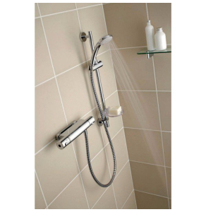 Ideal Standard Alto Ecotherm Thermostatic Shower Bar Valve Chrome - A4740AA IS10578