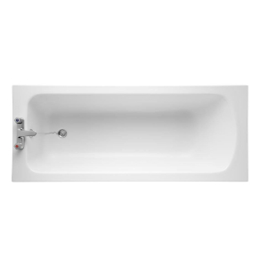 Armitage Shanks Sandringham 21 Bath without Handgrips 1600mm x 700mm - 2 Tap Hole AS10129