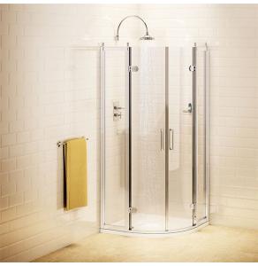 Burlington Traditional Quadrant Shower Enclosure, 800mm x 800mm, 8mm Glass BU10738