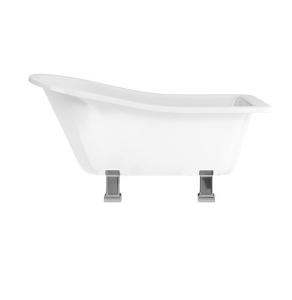Burlington Harewood Freestanding Slipper Bath 1690mm x 730mm Excluding Feet - E1 BU10483