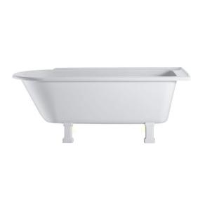 Burlington Hampton RH Freestanding Shower Bath 1690mm x 750mm Excluding Feet - E14 BU10479