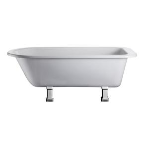Burlington Blenheim Single Ended Freestanding Bath 1690mm x 750mm Excluding Feet - E2 BU10481
