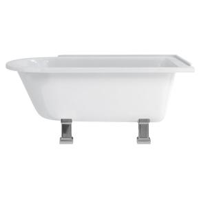 Burlington Hampton RH Freestanding Shower Bath 1500mm x 750mm Excluding Feet - E21 BU10477