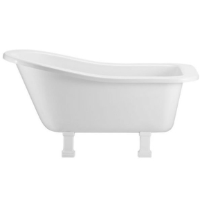 Burlington Buckingham Freestanding Slipper Bath 1500mm x 740mm Excluding Feet - E6 BU10482