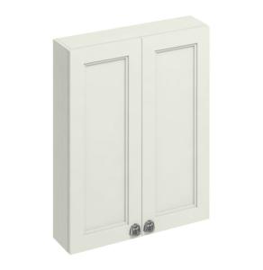 Burlington 60 Fitted 2-Door Wall Cabinet Unit, 600mm Wide, Sand BU10472