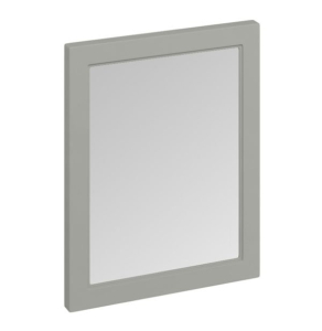 Burlington 60 Fitted Framed Bathroom Mirror, 750mm High x 600mm Wide, Olive BU10426