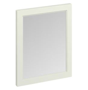 Burlington 60 Fitted Framed Bathroom Mirror, 750mm High x 600mm Wide, Sand BU10427