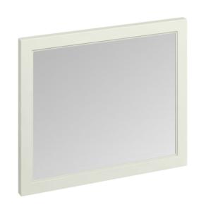 Burlington 90 Fitted Framed Bathroom Mirror, 750mm High x 900mm Wide, Sand BU10471