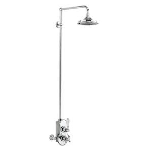 Burlington Spey Dual Exposed Mixer Shower, 6inch Fixed Head BU10668