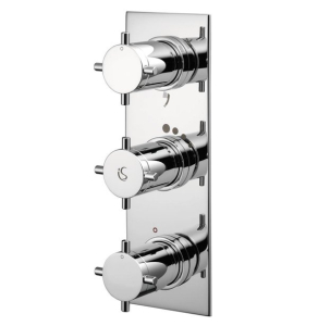 Ideal Standard Trevi Aposta TT Concealed Thermostatic Bath Shower Mixer Valve 3 Outlet Chrome - A5602AA IS10589