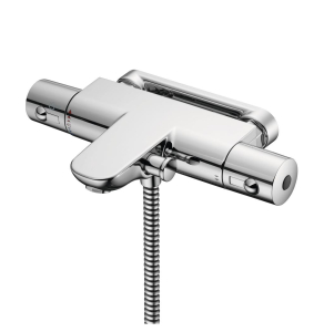 Ideal Standard Alto Ecotherm Thermostatic Shower Bar Valve Bottom Outlet Chrome - A5634AA IS10586